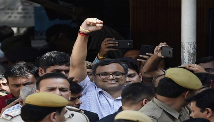 INX मीडिया केस : कार्ति को 13 दिन की न्यायिक हिरासत, तिहाड़ में नहीं मिलेगी अलग कोठरी