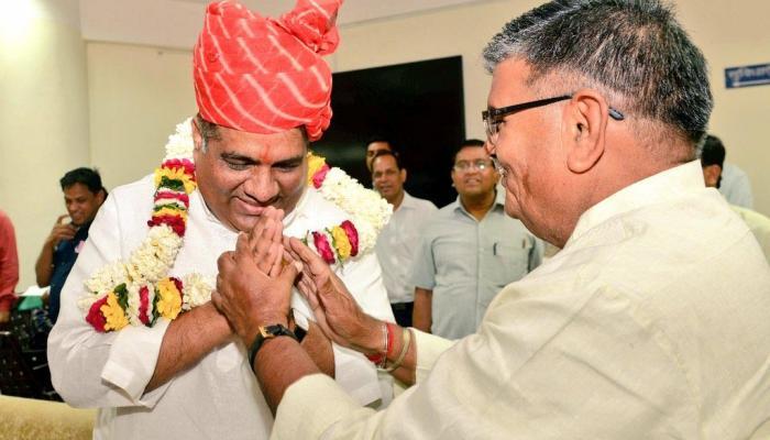 राज्यसभा चुनाव: किरोडी मीणा, भूपेन्द्र यादव और मदनलाल सैनी ने दाखिल किया नामांकन