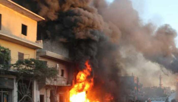 ब्लूचिस्तान: बम धमाके के बाद मलबे में तब्दील हुआ घर, 2 लोगों की मौत