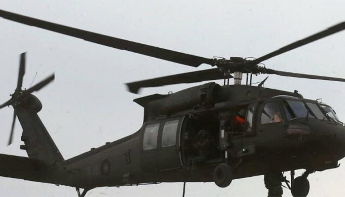 पश्चिमी इराक में अमेरिकी सेना का हेलीकॉप्टर दुर्घटनाग्रस्त