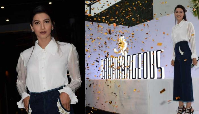 Gauhar Khan launched her own clothing line 'Gauherjeous' on her mother's birthday