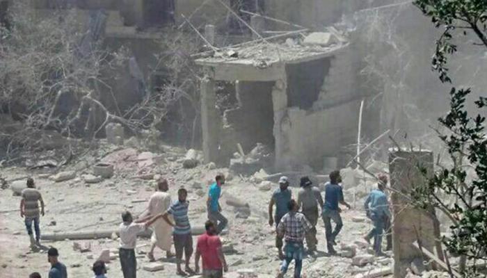 सीरिया: स्पोर्ट्स क्लब पर गिरा विद्रोहियों का रॉकेट, फुटबॉल प्रैक्टिस कर रहे बच्चे की मौत
