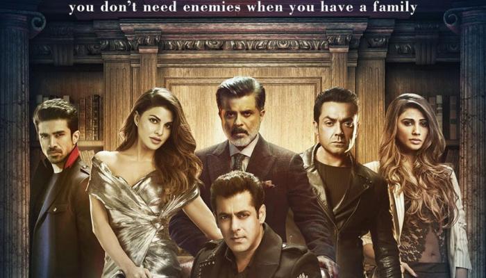 यह है सलमान खान की 'रेस 3' फैमिली, Final Poster में इस अंदाज में नजर आए एक्टर्स