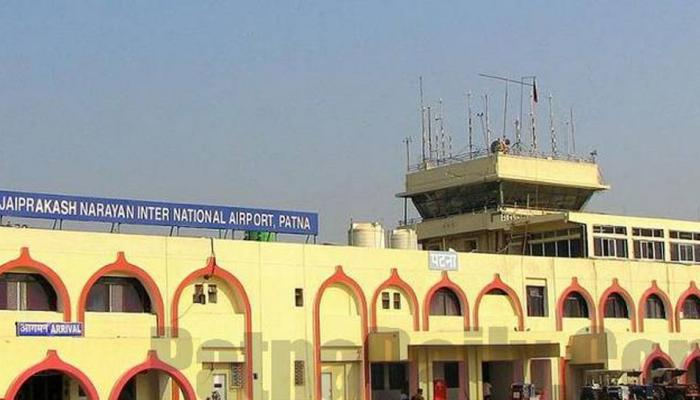 24 घंटे फ्लाइट सर्विस शुरू होने के बाद बढ़ाई गई पटना एयरपोर्ट की सुरक्षा