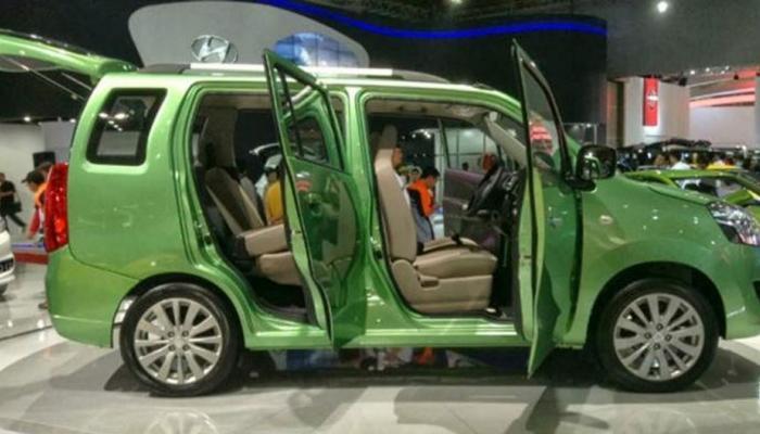 maruti suzuki wagon r 7 seater concept MPV unveiled