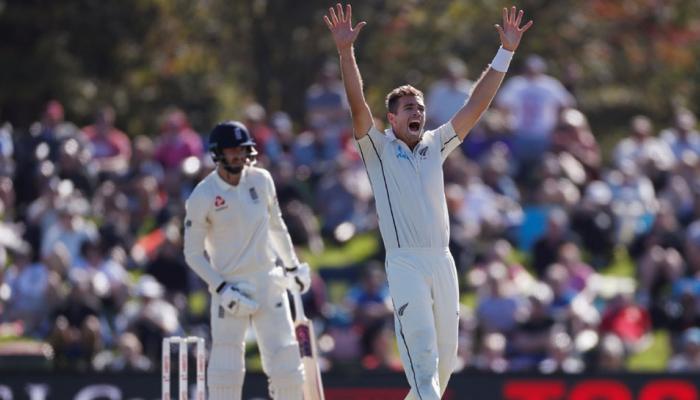 NZvsENG दूसरा टेस्ट : साउदी के कहर के बाद बेयरस्टॉ ने संभाला इंग्लैंड को
