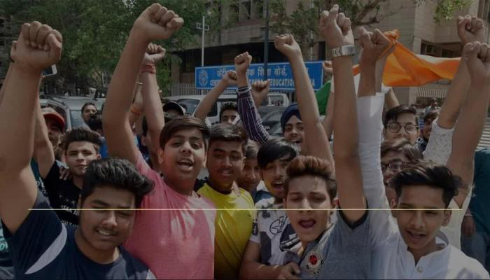 CBSE Paper Leak: Students Protest Infront CBSE Head Quarter