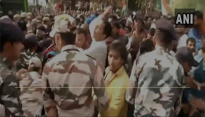 SSC Paper Leak: Aspirant Protest in Lutyens' Delhi, Clash With Police