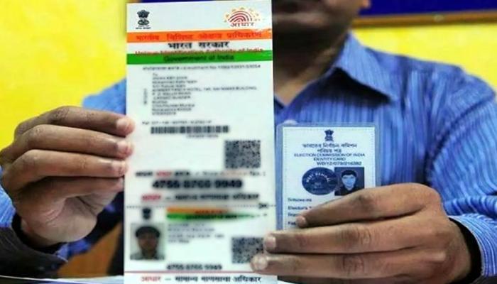केंद्रीय IT मंत्री की सलाह आधार को वोटर ID से लिंक न करें, लेकिन...