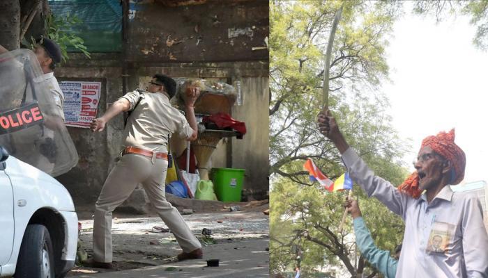 भारत बंद LIVE: मुरैना में प्रदर्शन के दौरान गोलीबारी में एक युवक की मौत, यूपी-बिहार में कई जगह आगजनी