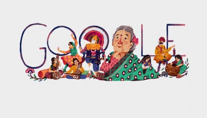 Google ने Doodle बनाकर किया स्वतंत्रता सेनानी कमलादेवी चट्टोपाध्याय को याद