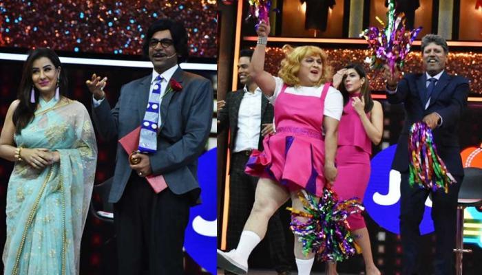 Sunil Grover, Ali Asgar and Shilpa Shinde New Cricket and Comedy Dhan Dhana Dhan launch