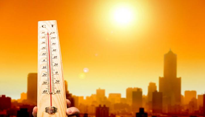 heat increased in the last 18 years, 6 degrees up in maximum temperature