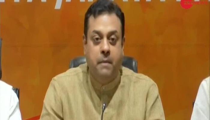Watch: BJP Spokesperson Sambit Patra addresses Press conference on Congress' nationwide fast