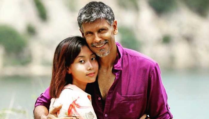 Is Milind Soman engaged with girlfriend Ankita Konwar photo goes viral on Internet