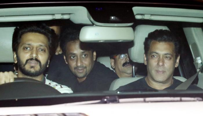 Saqib Saleem's Birthday party photos, Salman khan also joined