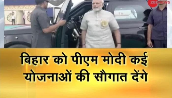 PM Modi pays tribute to Mahatma Gandhi in Motihari; will address Satyagraha Se Swachhagraha event
