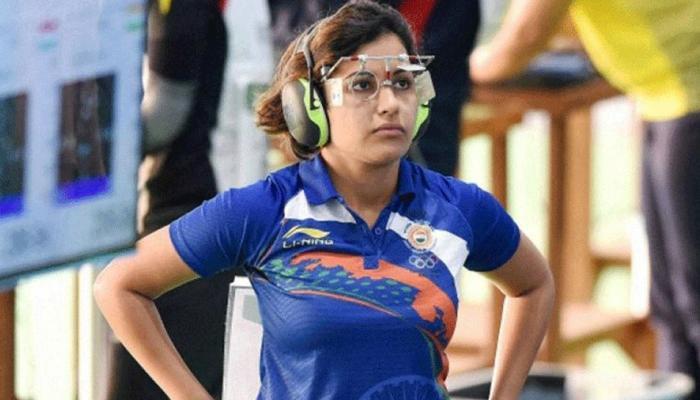 CWG 2018 : निशानेबाजी में हीना, अनु ने 25 मीटर पिस्टल के फाइनल में पहुंची