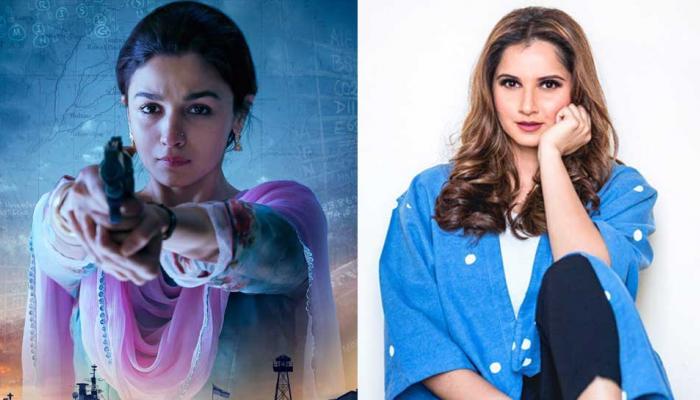 पाकिस्तान में इंडियन जासूस बनीं 'राजी' की आलिया भट्ट को बताया सानिया मिर्जा, मिला ये जवाब