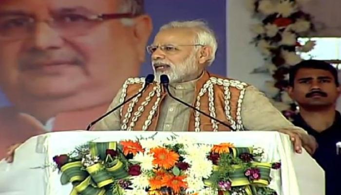 बाबा साहेब की वजह से मैं प्रधानमंत्री बना : बीजापुर में बोले PM मोदी, 10 खास बातें