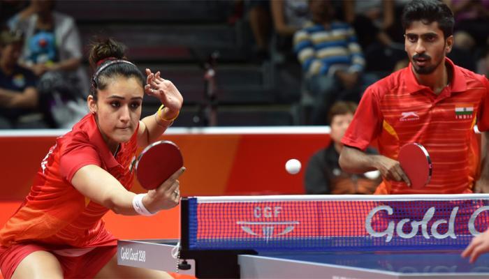CWG 2018 : मनिका-साथियान ने टेबल टेनिस में पहली बार दिलाया भारत को ब्रॉन्ज