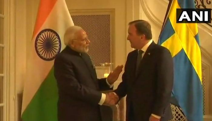 Prime Minister Narendra Modi met Swedish Prime Minister Stefan in Stockholm