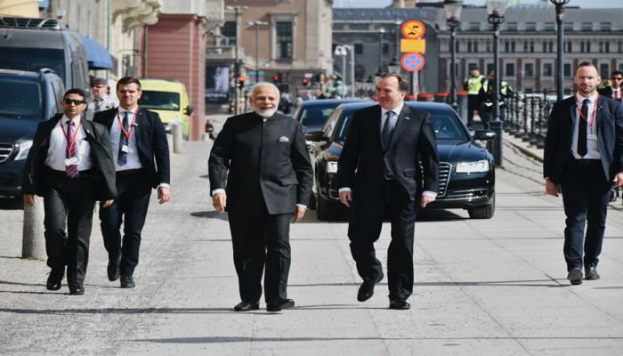 स्वीडन ने भारत की NSG सदस्यता की मांग का समर्थन किया
