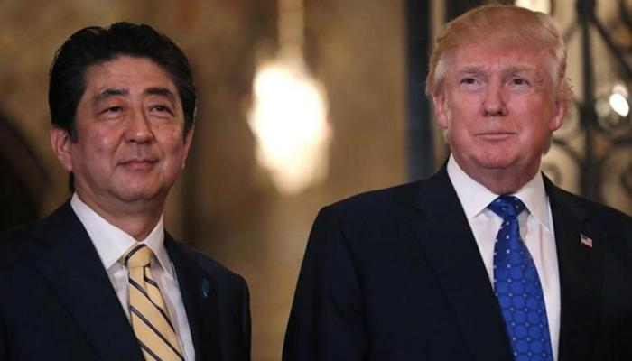 जापान: गिरती साख से जूझ रहे प्रधानमंत्री शिंजो आबे, डोनाल्ड ट्रंप से करेंगे मुलाकात