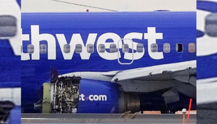 अमेरिका : रास्ते में फेल हुआ यात्री विमान का इंजन, बाल-बाल बची यात्रियों की जान