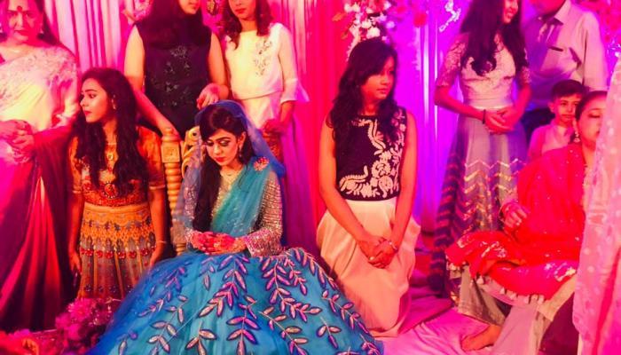 tejpratap yadav and aishwarya engagement in patna