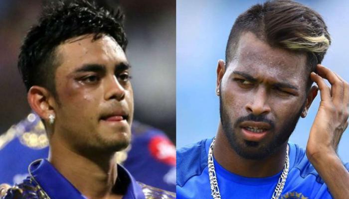 IPL 2018 : हार्दिक पांड्या ने इस अंदाज में ईशान किशन से कहा, सॉरी भाई