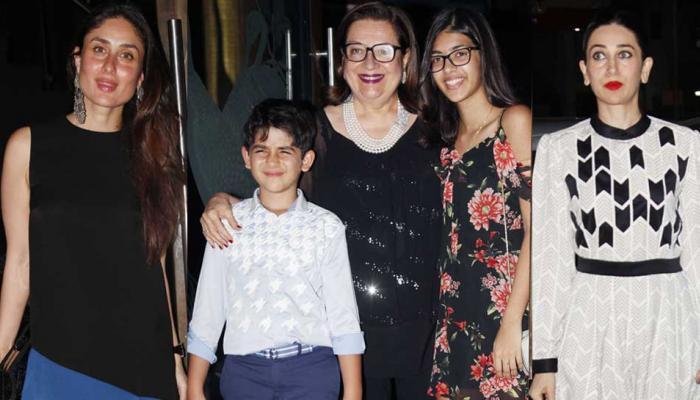 Kareena Kapoor, Karisma Kapoor celebrate Babita Kapoor's birthday