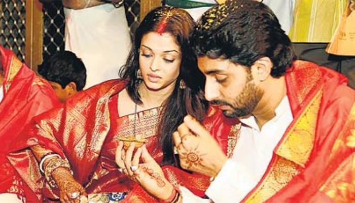 Abhishek Bachchan wish to Aishwarya on the 11th Marriage Anniversary