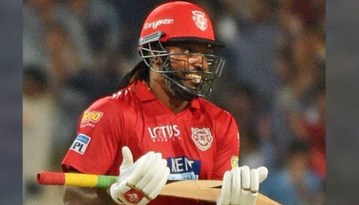 IPL 2018: Punjab's Chris Gayle power-punch Crush Kolkata, Create records