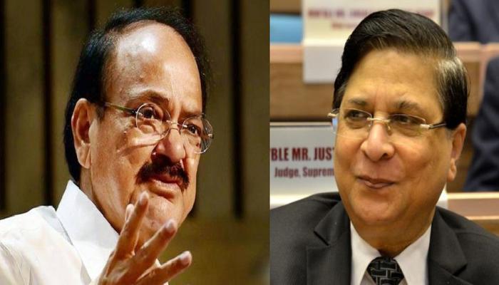 CJI दीपक मिश्रा पर नहीं चलेगा महाभियोग, उपराष्ट्रपति वेंकैया नायडू ने खारिज किया कांग्रेस का नोटिस