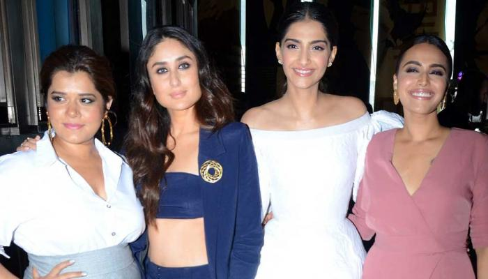 Sonam Kapoor, Kareena Kapoor At the Veere Di Wedding trailer launch Event