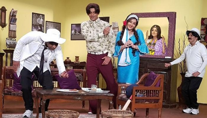 VIDEO: 'धन धना धन' के सेट पर सुनील ग्रोवर ने मरोड़ा शिल्पा शिंदे का हाथ और फिर...