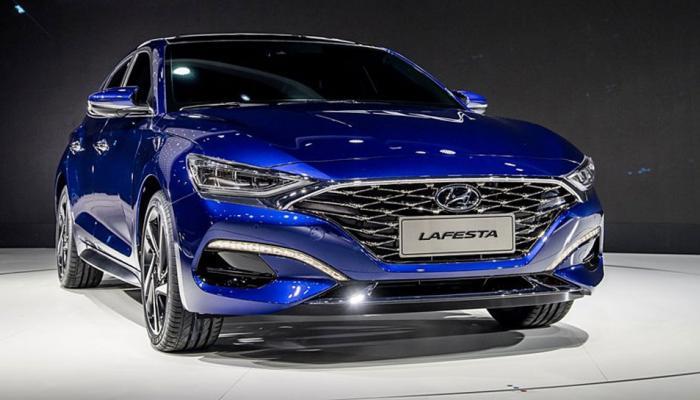 Hyundai Lafesta Sedan Showcased At Beijing Auto Show