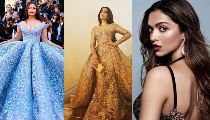 cannes 2018: aishwarya rai, deepika padukone and sonam kapoor to walk on red carpet for india