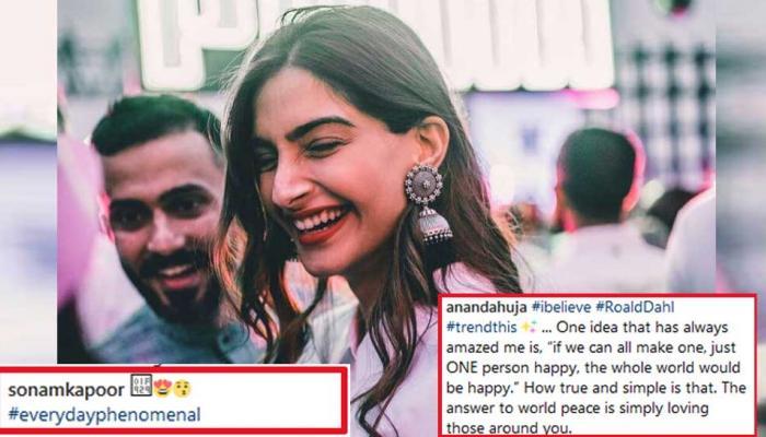 सोनम कपूर ने अपने 'होने वाले पति' के Instagram पोस्ट पर यूं जताया प्यार