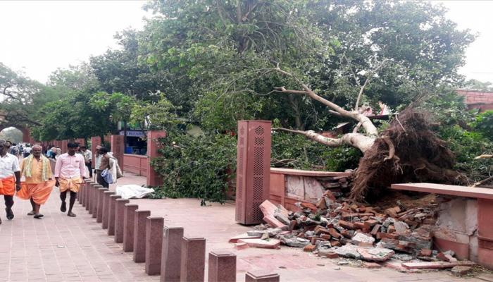 उत्तर प्रदेश, राजस्थान में आंधी-तूफान से 109 लोगों की मौत
