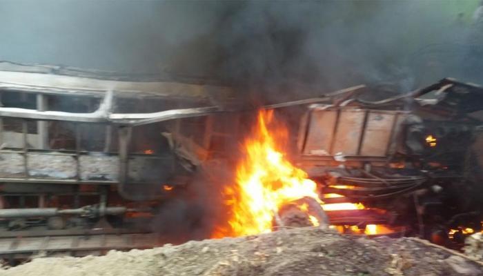 मोतिहारी हादसे का आंखों देखा: 'बस धूं-धूं कर जल रही थी, लोग आग की लपटों में घिरे थे...'