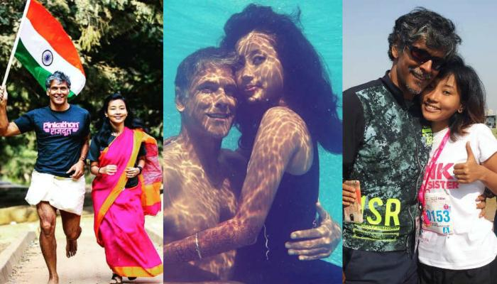 Fitness is the main reason behind Milind Soman and Ankita Konwar sizzling Chemistry