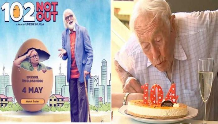 102 Not Out मूवी के बीच 104 साल का खुशहाल व्यक्ति चाह रहा मौत