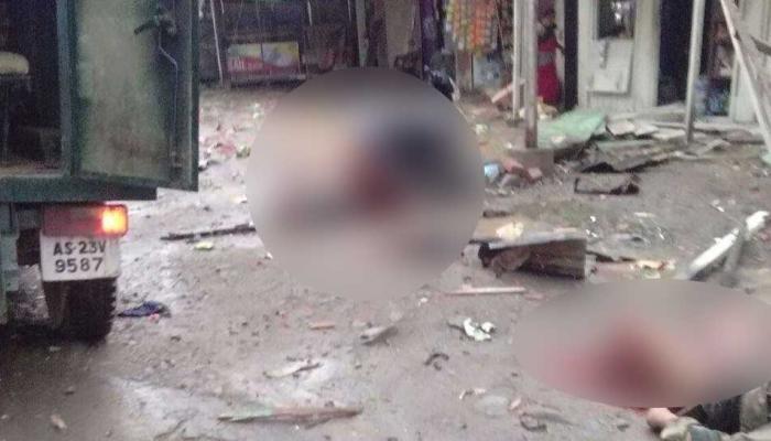 मणिपुर में बीएसएफ के सेक्टर्स हेडक्वार्टर में आईईडी ब्लास्ट, दो जवान शहीद