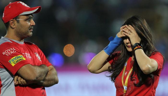 सहवाग पहले शख्स नहीं जिनसे हुई प्रीति जिंटा की बहस, इस क्रिकेटर के साथ भी हो चुका है ऐसा