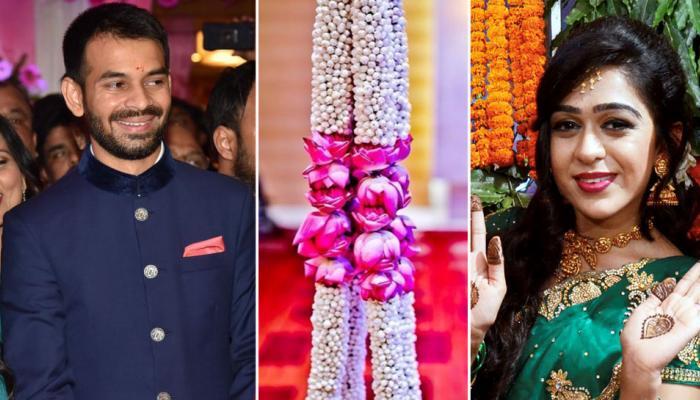 तेजप्रताप-ऐश्वर्या की शादी : बनाया गया इतना ऊंचा मंच कि 20 हजार लोग देख सकेंगे जयमाला