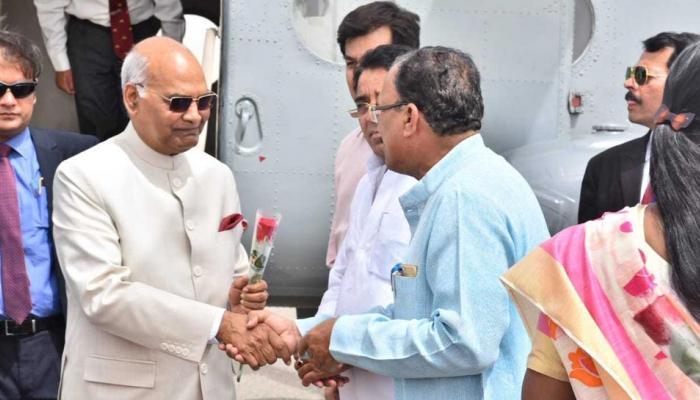 president visits ajmer sharif dargah and brahma mandir in pushkar