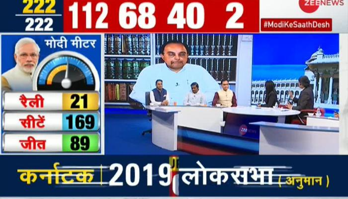 """My prediction of 125-130 seats for BJP is turning out to be true"" says, Subramanian Swamy"