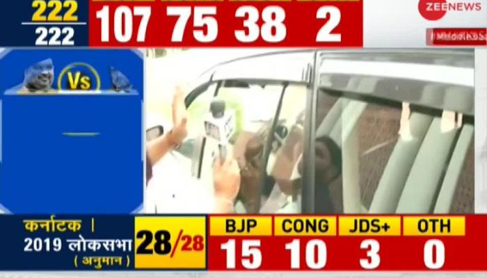 Results are still to be declared, says Rajyavardhan Singh Rathore on Congress' support to JDS